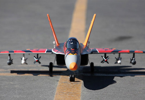 Starmax F/A-18E Hornet Fire Tiger 64mm Electric EDF RC Jet Ready-To-Fly
