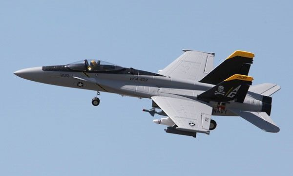 F/A-18E Hornet 64mm EDF Electric R/C RC Jet Airplane Plane Ready-To-Fly