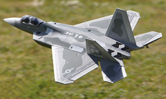 Starmax 70mm EDF F-22 Raptor Electric RC Jet Airplane PNP