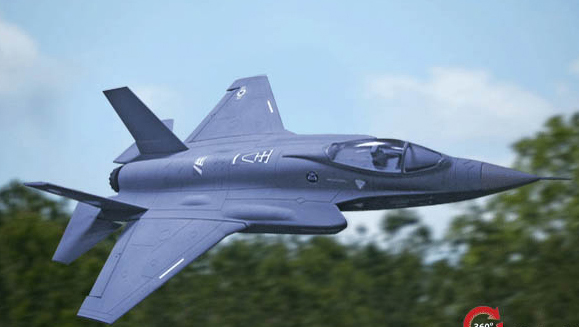 4 CH F-35 Lightning II 3D Aerobatic RC 64mm EDF Fighter Jet Speed Up To 95mph+ PNP