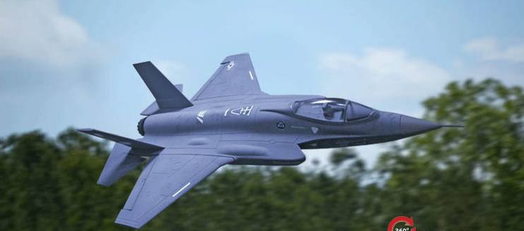 Freewing F-35 64mm EDF RC Jet Ready-To-Fly, Returned Item