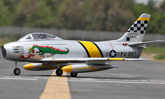 Starmax F-86 Sabre Pro 70mm Electric RC EDF Jet RC Airplane Plane PNP, Returned Item