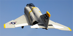 F-4E Phantom 4-Channel RC Jet w/ Brushless, LiPo Setup, 64mm EDF, 100% RTF