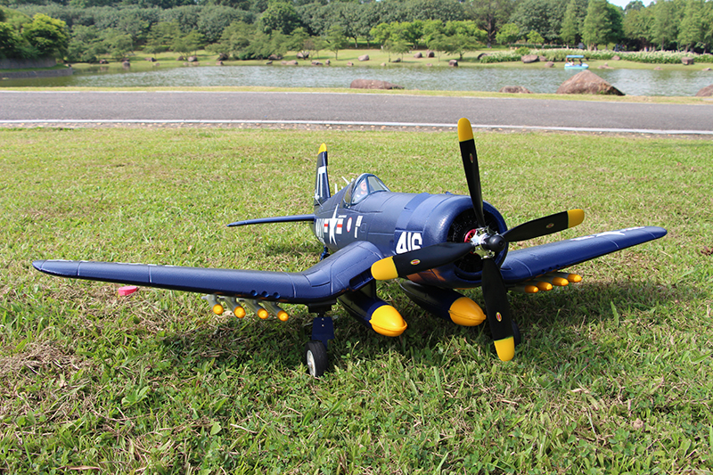 Unique Models F4U-4 Corsair 1200mm Electric RC Airplane PNP