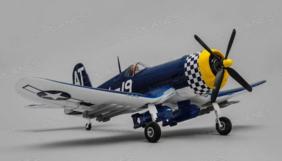 F4U Corsair A-203 800mm Wingspan EPO Electric RC Plane PNP Version with Motor ESC Servo