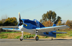 Dynam F6F Hellcat 50'' 1270mm EPO Electric RC Airplane PNP With Motor/ESC/Servos/Prop/Retracts Installed