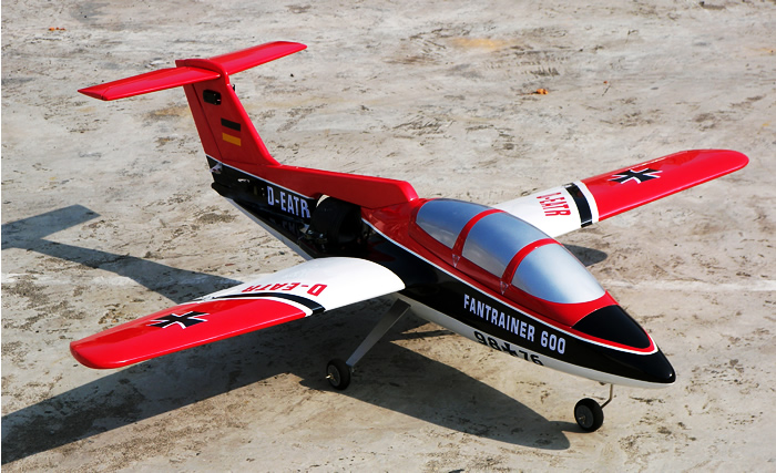 Electric Ducted Fan RC Trainer 51'' ARF