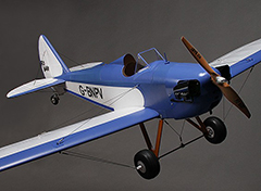 Taft hobby Fly Baby Scale Airplane EPO 1400mm PNP Blue