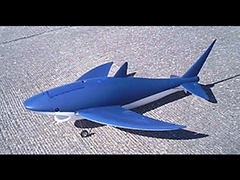 Flying Shark RC Aricraft Kit New