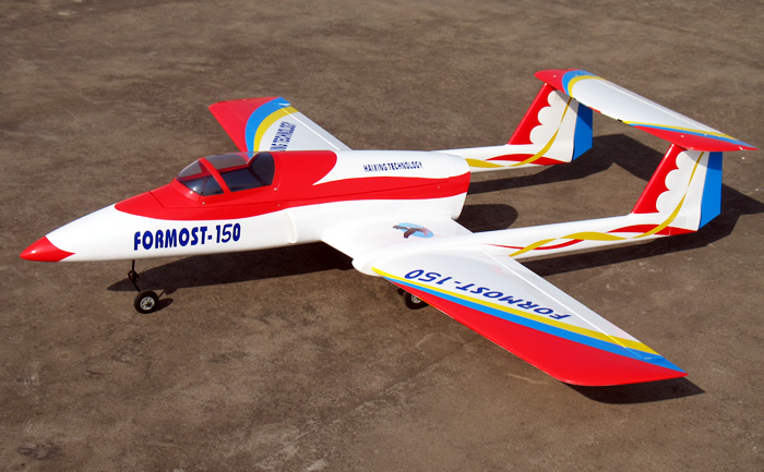 Formost 160 76in/1930mm RC Prop Jet Airplane