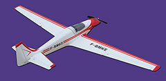 Flyfly Fournier RF-4D 800mm PNP Electric RC Plane