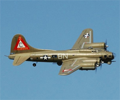 "Freewing B-17 ""Flying Fortress"" 63''/1600mm Brushless Warbird with Worm Drive Retracts Memphis Belle PNP"