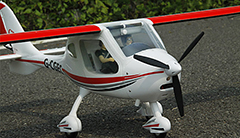 "Freewing Flight Design CTLS 1.2M (47"") EPO Electric RC Plane Kit Version"