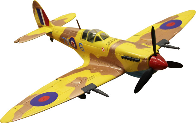 Freewing Spitfire 650mm Electric R/C RC Airplane Plane Ready-To-Fly