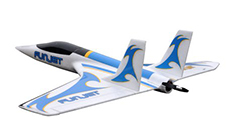 HSD Funjet 800mm Wingspan RC Plane Kit Blue