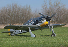 FlyFly Focke-Wulf FW-190 1400mm/55'' EPO Electric RC Plane