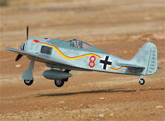 Freewing Focke-Wulf FW-190 1120mm/44'' EPO Electric RC Airplane Kit Version