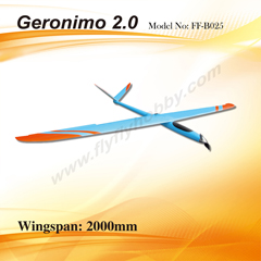 Flyfly Geronimo 2.0m Electric Glider