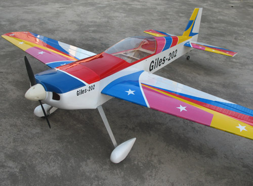 Giles 202 50cc 75.9'' Nitro Gas RC Airplane ARF