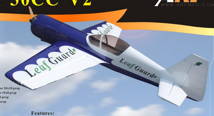 Goldwing ARF-Brand Sukhoi Su-26 30CC 73.5'' RC Airplane B