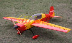 Goldwing EXTRA 300LP 88'' RC Airplane Version 3 50CC V3 Red A
