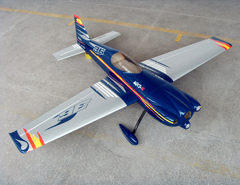 Goldwing MXS-R 75''/1915mm 30CC Carbon Fiber Gas RC Airplane Blue B