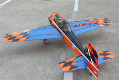 Goldwing ARF Yak 55M 30CC 72''/1820mm Aerobatic 3D Gas RC Airplane Blue C