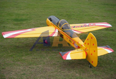 Goldwing ARF Yak 55M 30CC 72''/1820mm Aerobatic 3D Nitro Gas Airplane Yellow A