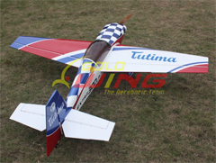 Goldwing Extra 300LP 88''/2060mm 50CC Aerobatic RC Airplane with Carbon Fiber Parts White B