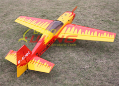 Goldwing Extra 300LP 73''/1860mm 30CC Aerobatic RC Airplane with Carbon Fiber Parts Red A