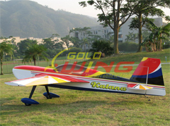 Goldwing Katana 50CC 88''/2240mm RC Airplane Red B