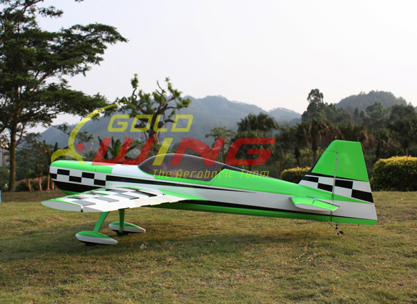 Goldwing MX-2 50CC 88''/2235mm V3 Aerobatic RC Airplane With Carbon Fiber Parts Green A