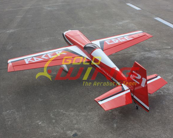 Goldwing Racer Edge 540 30CC 75''/2920mm RC Airplane V3 With Carbon Fiber Parts Red B