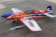 Goldwing Sbach 300 50CC Version 3 89''/2260mm RC Airplane White A