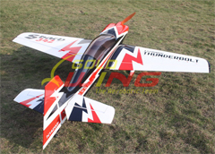 Goldwing Sbach 342 Thunderbolt 50CC 89'' Aerobatic RC Airplane Version 3 A