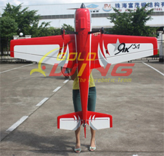 Goldwing Yak 54 30CC 73'' RC Airplane Red
