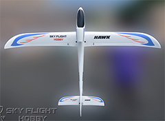 LX Hawk 1800mm/71'' Electric RC Glider Kit Version