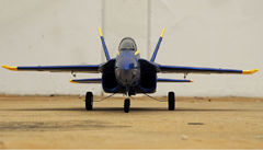 F/A-18 Hornet 64mm EDF Electric R/C RC Jet Airplane RTF Blue Angel Version