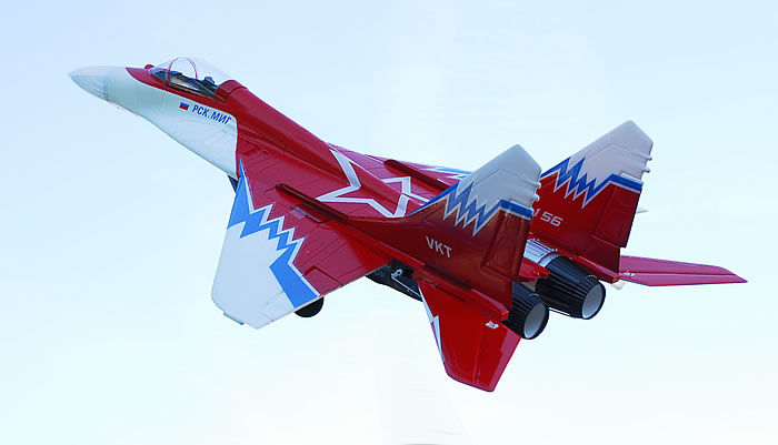 MiG-29 Twin(2) 55mm EDF Powered by Brushless Motor, Speed Up To 90MPH PNP