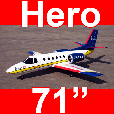 Hero Eagle 100 EDF Fiberglass 71'' , No Canopy