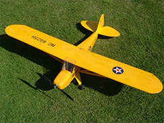 Piper J-3 Cub 37.5'' Balsa RC Plane New In Box