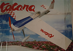 Katana 38'' Balsa Electric RC Plane ARF