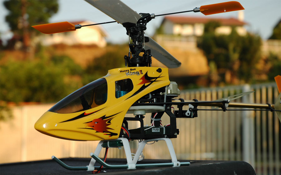 Esky Honey King 2 Electric RC Helicopter Ready-to-Fly