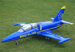 Flyfly L-39 Albatross 70mm EDF RC Jet Kit Version