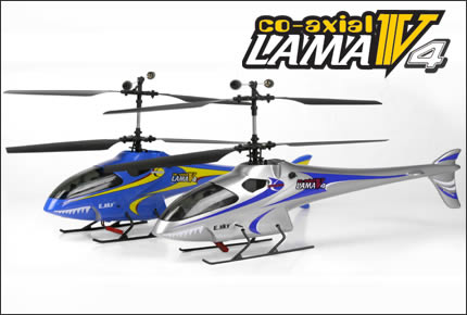 Esky 4-Channel Lama V4 Co-Axial RC Helicopter