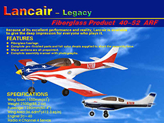 Rich Model LANCAIR-40 Model Airplane