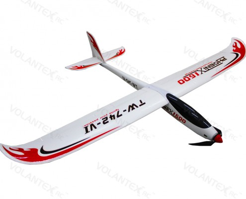 Lanyu Phoenix 1600mm/63'' Electric RC Glider 742-6 PNP