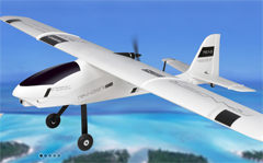 Volantex Ranger Ex Long Range FPV/sUAS Platform Unibody Big Weight Carrier 78'' Electric RC Plane PNP (757-3)