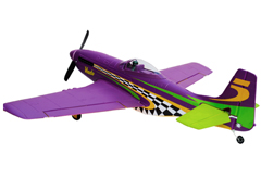 Lanyu P-51 Mustange Voodoo 30'' (TW-768-1) EPO Electric RC Plane Ready-To-Fly