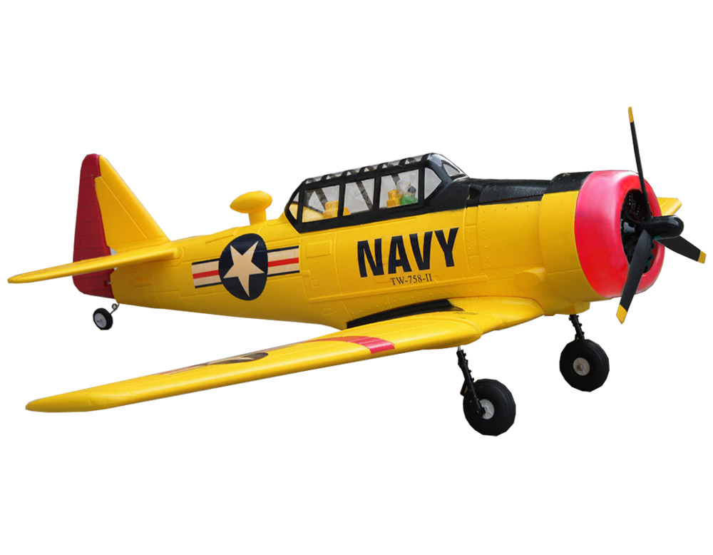 AT-6 Texan Navy 1400mm/55.1'' Electric RC Airplane PNP